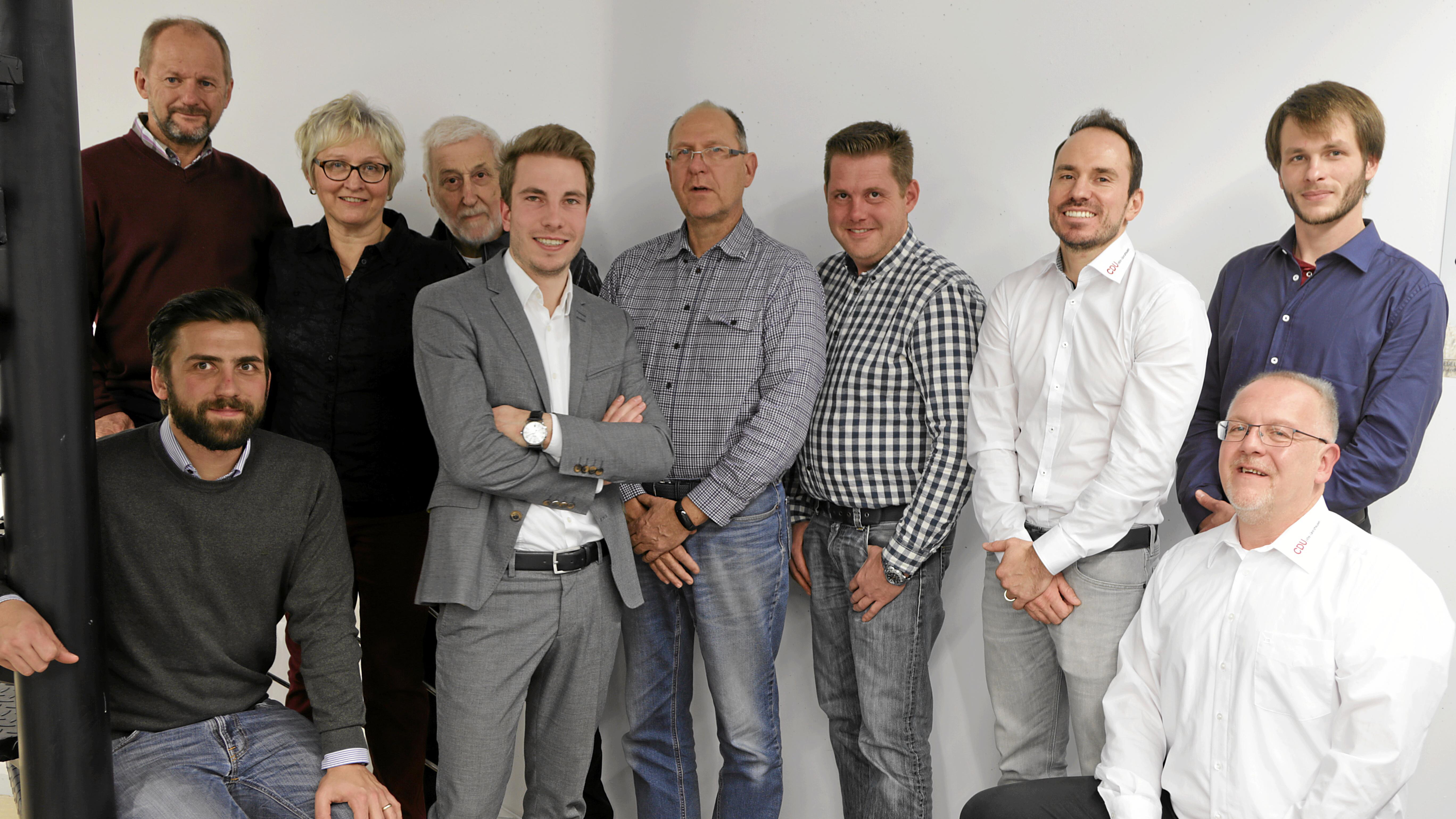 CDU macht sich für für die Zukunft, neuer Vorstand